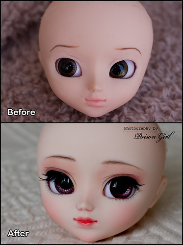 Before & After - Pullip Custom