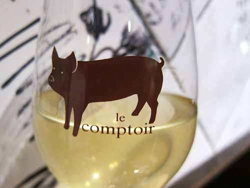 L'Avant-Comptoir Wine Glass