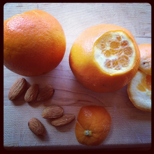 oranges and almonds