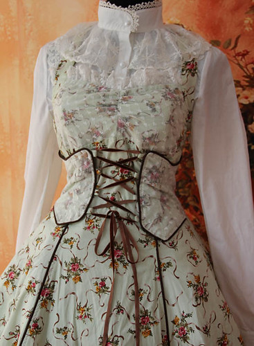 Infanta_Halter_Wrapping_Tape_Lace_Up_Lolita_Dress_2