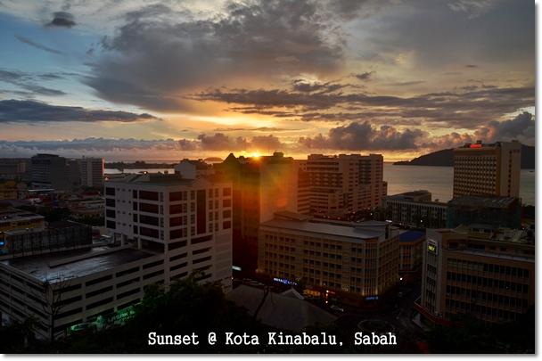 Sunset View @ Kota Kinabalu, Sabah
