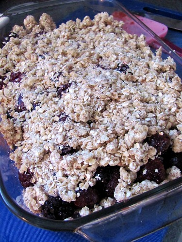 President's Choice Cooking School's Power Fruit Breakfast Crumble