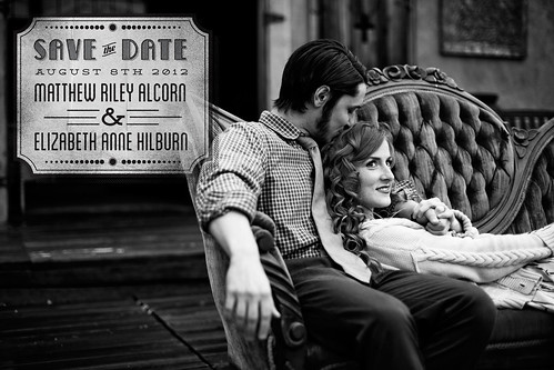 Matthew & Elizabeth Save the Date Concept