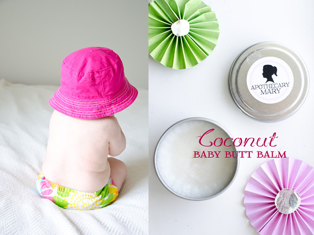 coconut baby butt balm by Mary Banducci