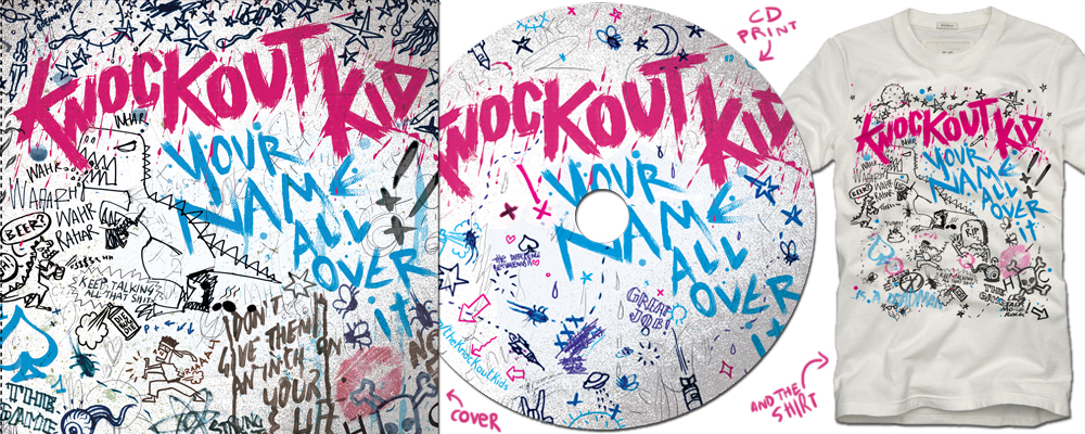 Knockoutkid - Your name all over it - blog