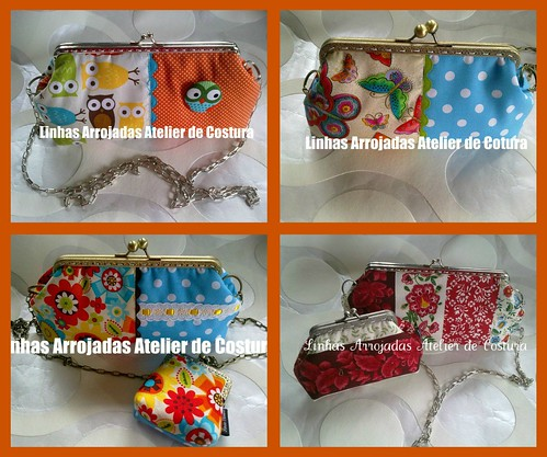 Novas clutch by ♥Linhas Arrojadas Atelier de costura♥Sonyaxana