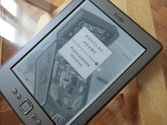 La copertina su Kindle