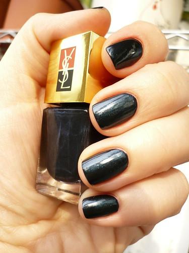 YSL 127 Noir Lapis