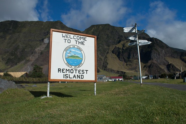 Tristan - the Remotest inhabited island in the world