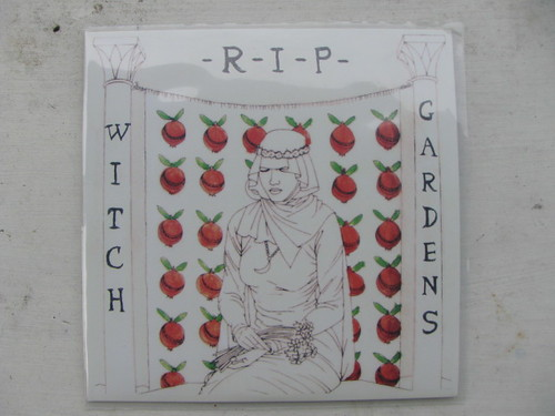 "Witch Gardens - R.I.P 7"" - Water Wing Records"