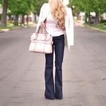 kooba sabrina bag - wavy hair-love story jeans