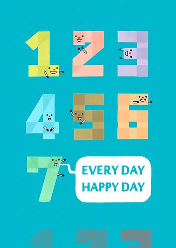 1234567天天都是好心情
