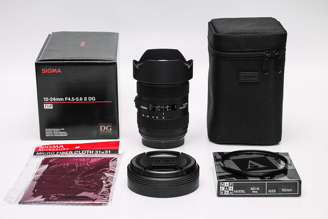 20140317_01_【売ります!】SIGMA 12-24mm F4.5-5.6 II DG HSM(for CANON)_50000円(送料別)