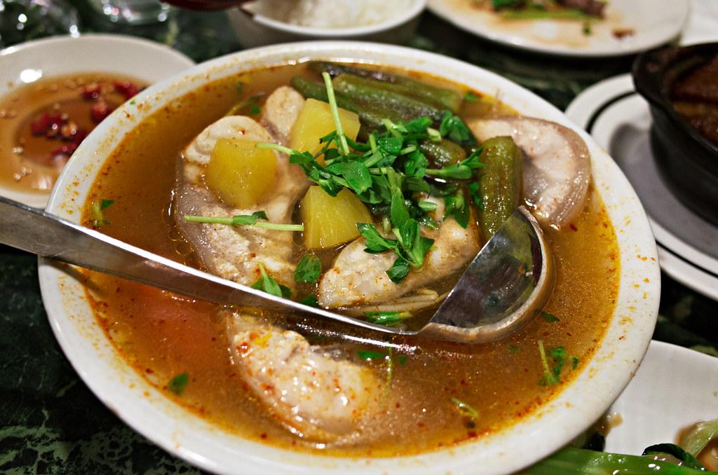 canh chua ca - Rainier Restaurant & BBQ