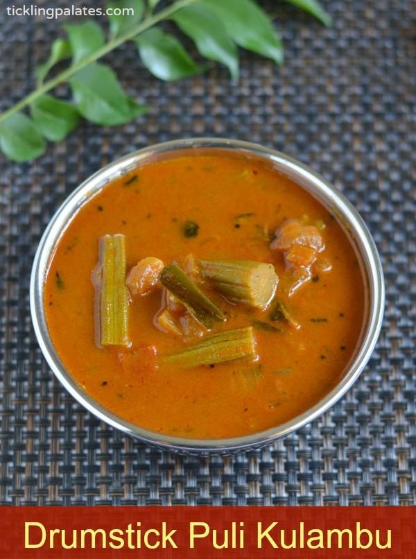 Drumstick Puli Kulambu Recipe