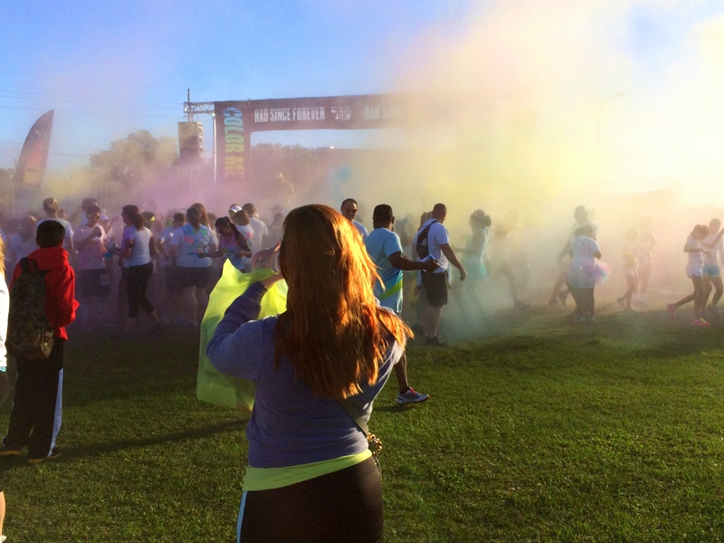 Color Me Rad race