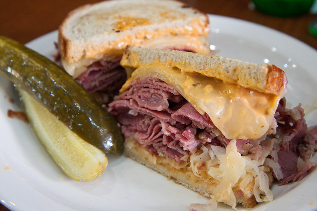 Reuben, David's Brisket House