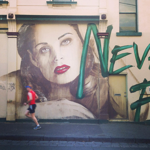 grafiti off Gertrude St