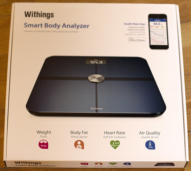 Packaging balance Withings ws50