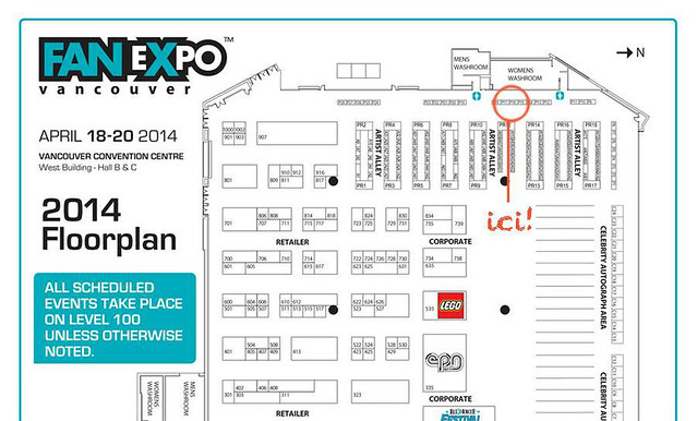 fan expo map