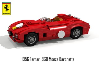 Ferrari 1956 860 Monza Barchetta Racer