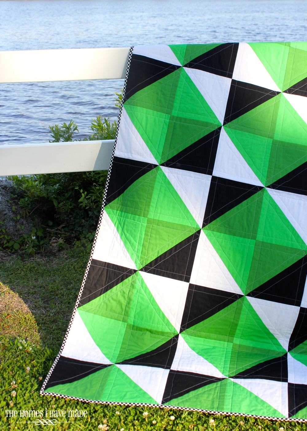 Henry's Green Quilt-014