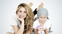 Shakira... ¡se solidariza con los niños con cáncer!