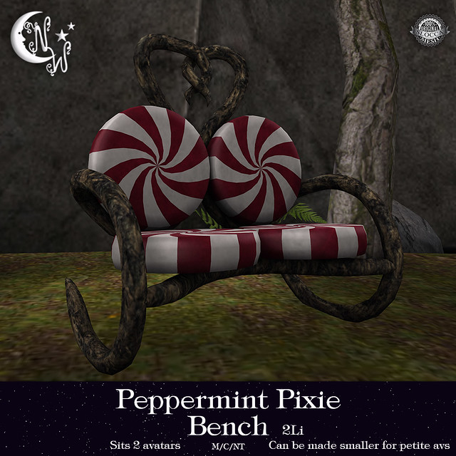 *NW* Peppermint Pixie Bench