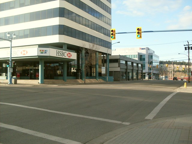 downtown Prince George