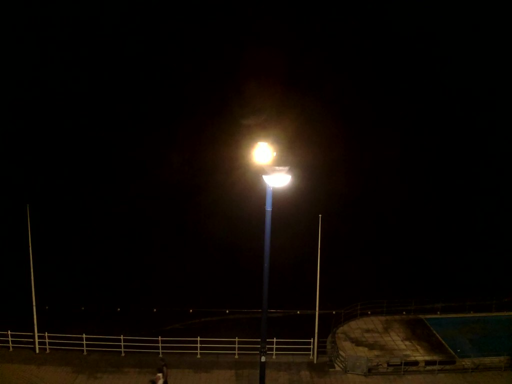 Timelapse from sea-front in Aberystwyth