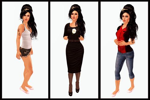 Amy - Triptych