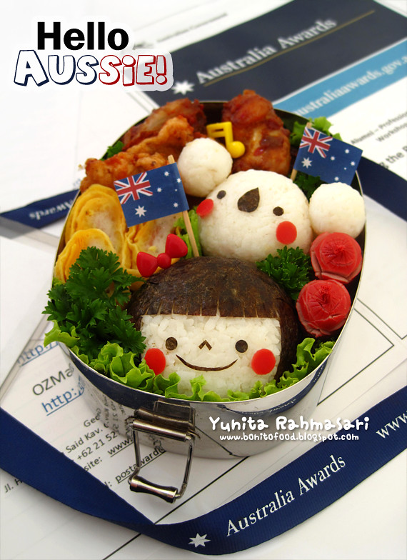 Hello Aussie Bento for Jenk Lyn