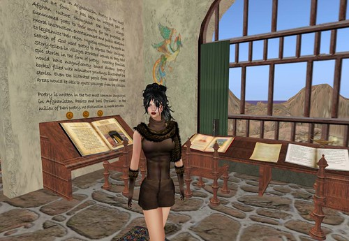 ARTEMIS GIFT Leopard Stole dress by Cherokeeh Asteria