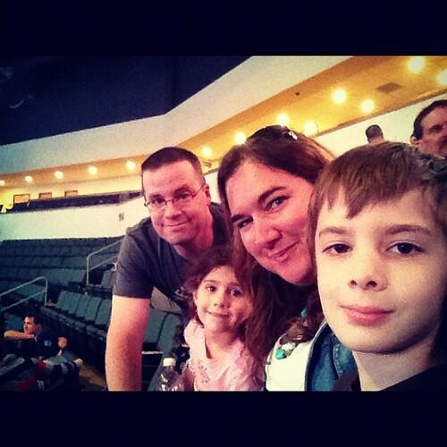 Big kids' first arena concert. #winterjam