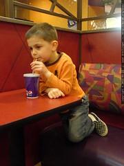 """we can eat anywhere i want? okay. taco bell!""   DSC…"