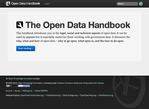 The Open Data Handbook
