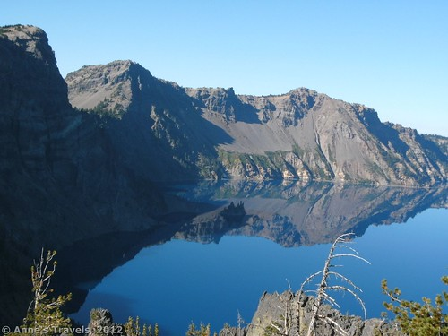 Phantom Ship from Cloudcap Overlook, Crater Lake National Park, Oregon