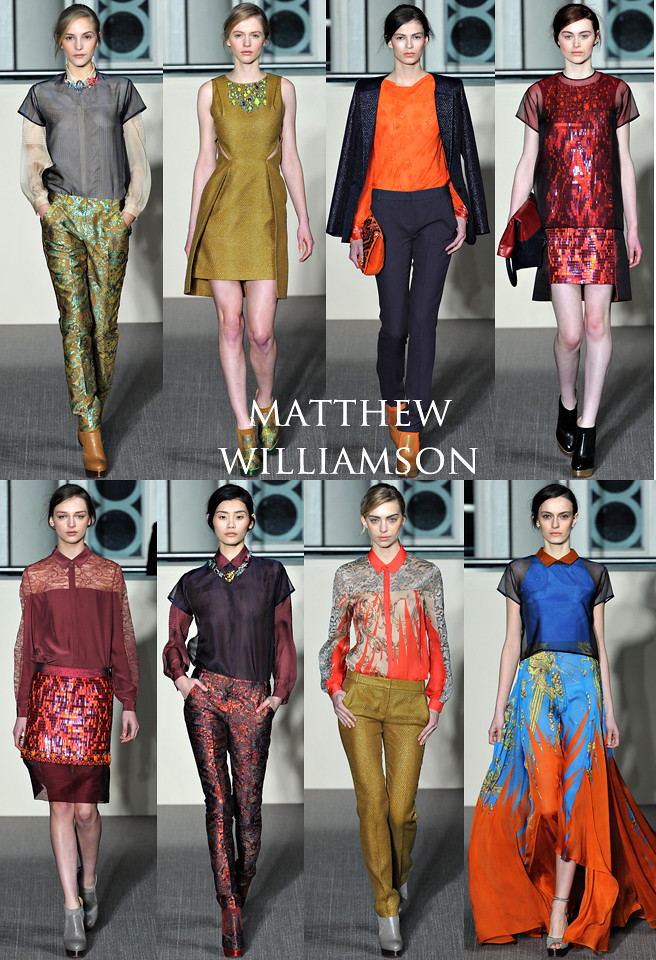 Matthew Williamson LFW 2