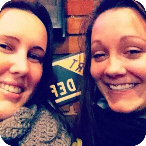 me & my sister.