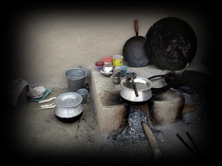 Open Kitchen in villages