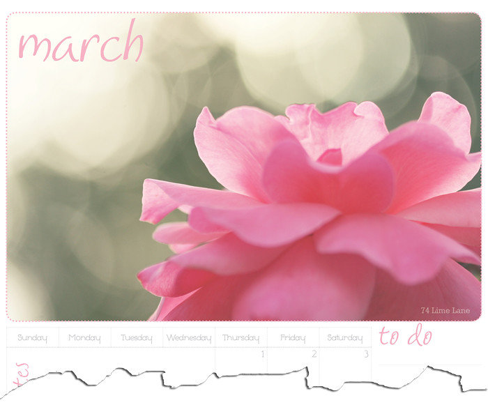 March calendar download