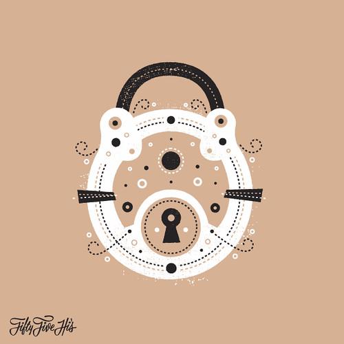 Pair Print Lock