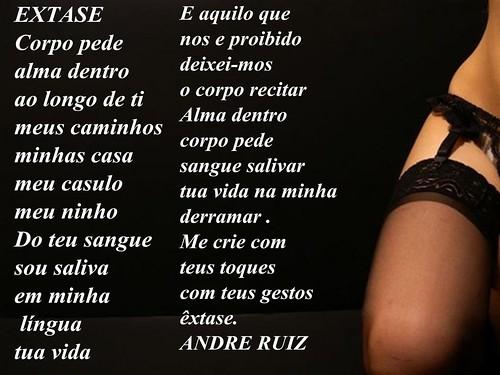 EXTASE by amigos do poeta