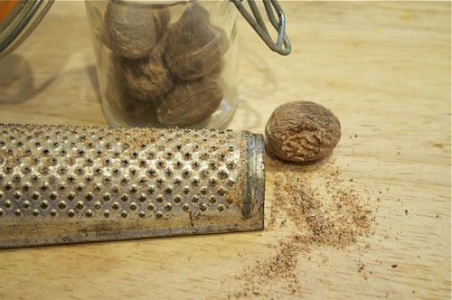 nutmeg grated