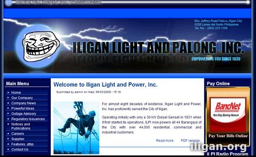 ILPI Website Hacked