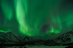 Northern lights on Kvaløya 2012-01-24