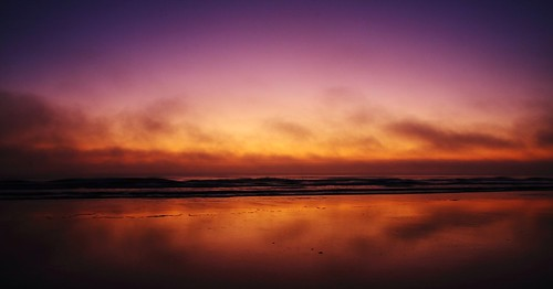 ocean red orange reflection water saint sunrise canon purple florida atlantic crescentbeach augustine staugustine 40d