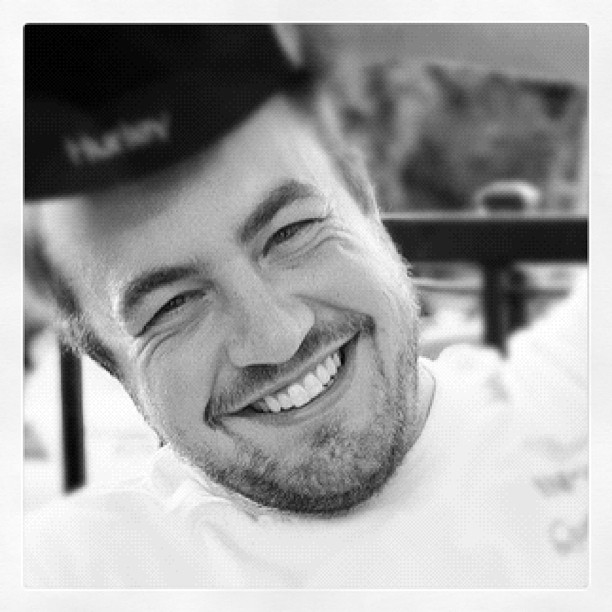 The most beautiful smile I've ever captured :) my hubby when we first started dating #marchphotoaday #asmile #day5