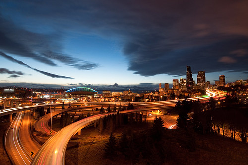 seattle landscape cityscape rizalbridge