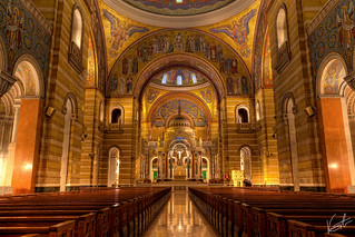 Imageof Cathedral Basilica of Saint Louis. italy pope art church colors canon worship catholic cathedral mosaic religion stlouis large grand missouri dome hdr highdynamicrange 2470 cathedralbasilica pue stuckincustoms 5dmkii